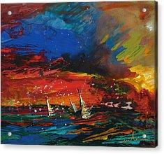 Sailing Impression 03 Acrylic Print
