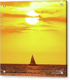Sailing In Hawaiian Sunshine Acrylic Print