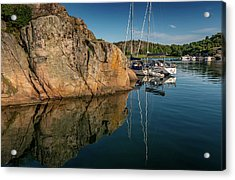 Sailing In Sweden Acrylic Print