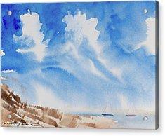 Fine Coastal Cruising Acrylic Print