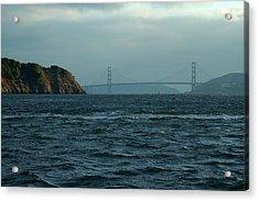 Sailing Marin Acrylic Print