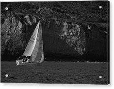 Sailing Off Southern California Acrylic Print
