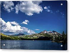 Sailing On Caples Lake Acrylic Print