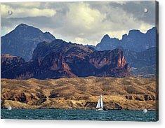 Sailing Past The Sleeping Dragon Acrylic Print