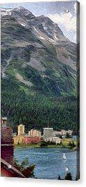Sailing St Moritz Acrylic Print by Jeff Kolker
