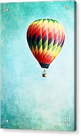 Sailing Acrylic Print by Stephanie Frey