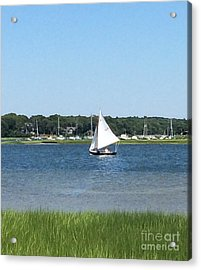 Sailing The Cape Acrylic Print
