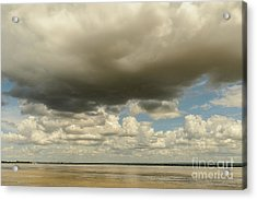 Acrylic Print featuring the photograph Sailing The Irrawaddy by Werner Padarin