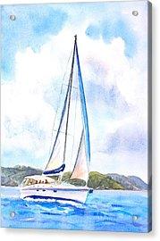 Sailing The Islands 2 Acrylic Print