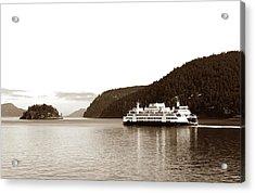 Acrylic Print featuring the photograph Sailing The San Juan Islands by Lorraine Devon Wilke