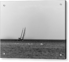 Sailing The Seven Seas Acrylic Print by Mario Celzner