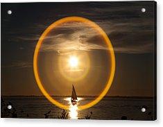 Sailing Through The Iris Acrylic Print