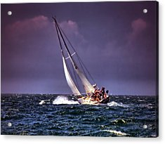 Sailing To Nantucket 001 Acrylic Print