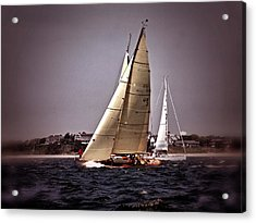 Sailing To Nantucket 005 Acrylic Print