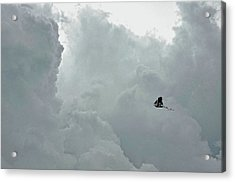 Sailing To The Storm Acrylic Print by JAMART Photography
