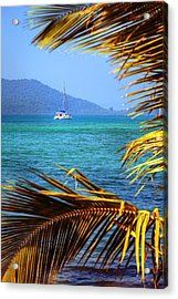 Acrylic Print featuring the photograph Sailing Vacation by Alexey Stiop