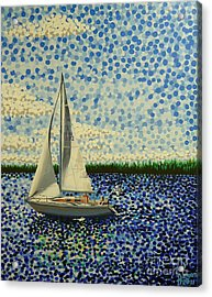 Sailing With Olivia Acrylic Print
