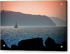 Sailng Acrylic Print