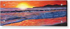 Sailor's Delight Acrylic Print by Anne West