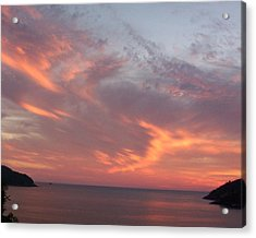 Sailors Delight Acrylic Print by James Johnstone