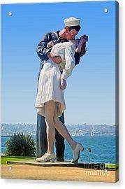 Sailors Kiss Acrylic Print