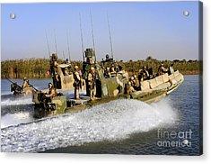 Sailors Racing Along The Euphrates Acrylic Print by Stocktrek Images