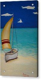 Sailors Solitude Acrylic Print by Amanda Clark