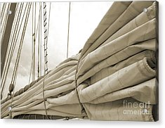 Sails Are Down 2 Acrylic Print