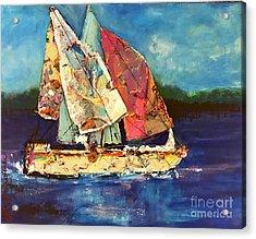 Sails Away Acrylic Print