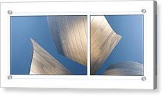Sails Acrylic Print by Kevin Bergen