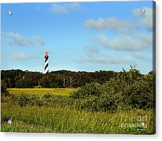 Saint Augustine Lighthouse Acrylic Print by Addison Fitzgerald