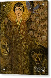 Saint Acrylic Print