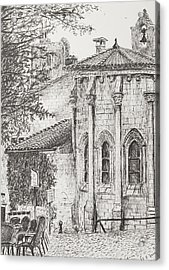 Saint-emilion Acrylic Print