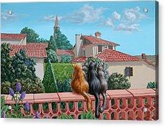 Saint-frajou. August. Acrylic Print