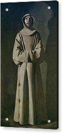 Saint Francis Acrylic Print