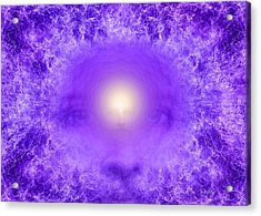 Saint Germain And The Violet Flame Acrylic Print