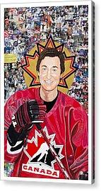 Saint Gretzky Acrylic Print