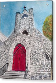 Saint James Episcopal Church Acrylic Print