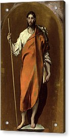 Saint James The Greater Acrylic Print by El Greco