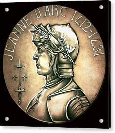 Saint Joan Of Arc Acrylic Print