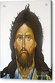 Saint John Acrylic Print by George Siaba