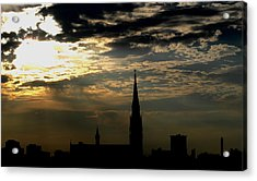 Saint Johns Sunrise Acrylic Print