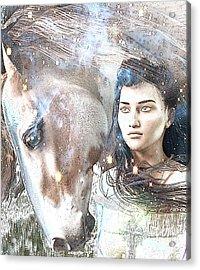 Saint Kateri Poster Acrylic Print