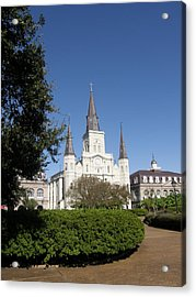 Saint Louis Cathederal 2 Acrylic Print by Jack Herrington