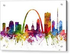 Saint Louis Cityscape 06 Acrylic Print