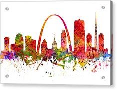 Saint Louis Cityscape 08 Acrylic Print