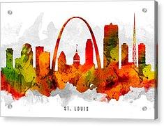 Saint Louis Missouri Cityscape 15 Acrylic Print