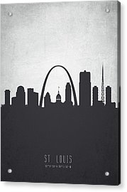 Saint Louis Missouri Cityscape 19 Acrylic Print