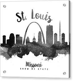 Saint Louis Missouri Skyline 18 Acrylic Print