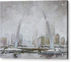 Saint Louis Winter Day Acrylic Print